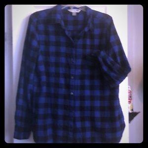 Ladies flannel top